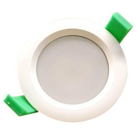 Spot encastrable à LED rond 90mm Blanc chaud IP65 7W + transformateur