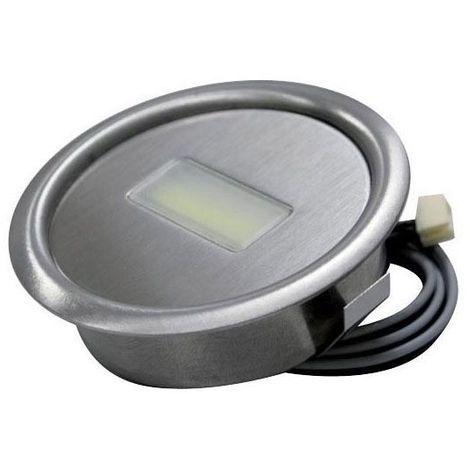 Spot encastrable à leds 3w -  :  - Type d'éclairage : LED - Température de couleur : 4000 K - Puissance : 3 W -  :  - Fixation : A encastrer - Couleur de la lumière : Blanc froid - Indice de protecti
