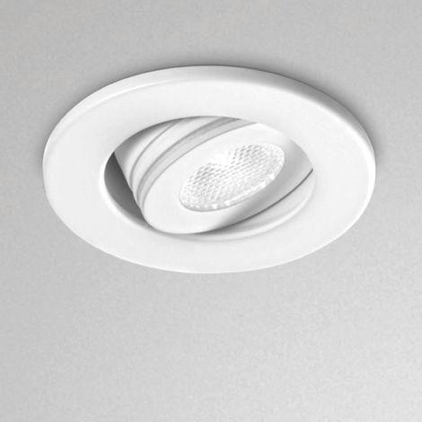 Spot encastrable aluminium gea led gfa880c gfa880n led rond spot faux plafond réglable 3w 170lm 180lm 3000 ° k 4000 ° k ip20