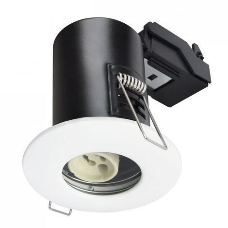 Spot encastrable anti-feu downlight Blanc GU10 IP65 V-TAC - 3684