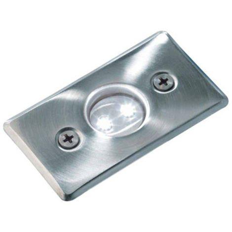Spot encastrable AXIS BLANC 0,5W PLATINE LED IP68 Blanc Froid éxterieur Garden lights ampoule fournie - 3038601