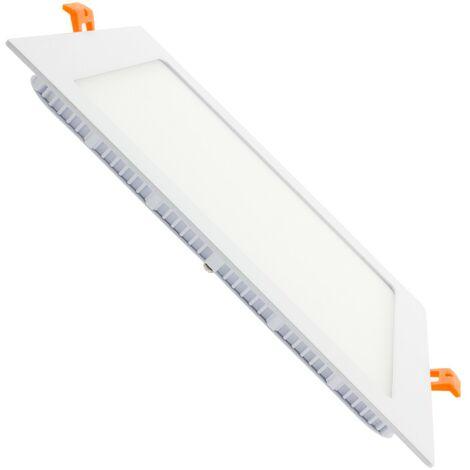 Spot Encastrable Dalle LED Carrée Extra Plate 18W Downlight Panel
