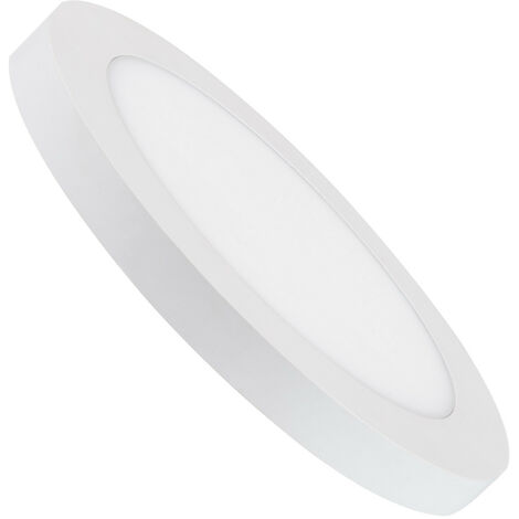 Spot Encastrable Dalle LED Ronde 22W Coupe Ajustable Ø 60-160mm Downlight Panel