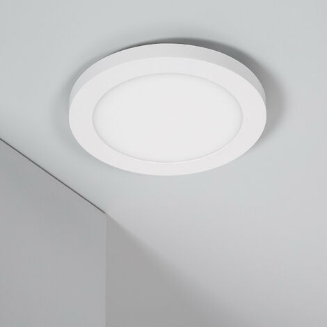 Spot Encastrable Dalle LED Ronde CCT Sélectionnable 22W Coupe Ajustable Ø 60-160 mm Downlight Panel Sélectionnable (Chaud-Neutre-Froid) - Sélectionnable (Chaud-Neutre-Froid)