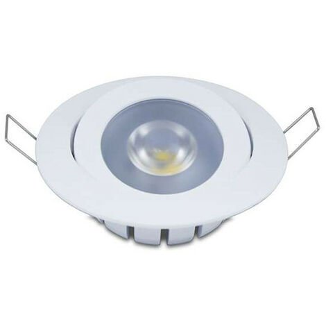Spot encastrable Dimmable 10W LED CREE équivalent 80W - Blanc du Jour 6000K