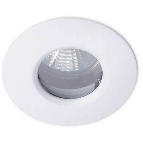 Spot encastrable douche Split IP65 12V D8,5 cm - Blanc - Blanc