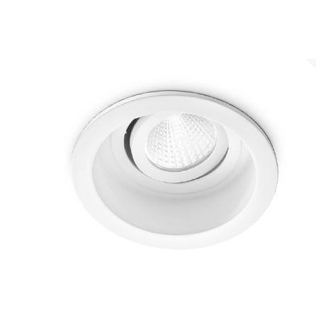Spot encastrable en aluminium gea led gfa801 spot led intérieur blanc réglable 16w 38 ° 3000 ° k 4000 ° k ip20, nuances claires 3000 ° k (lumière chaude)