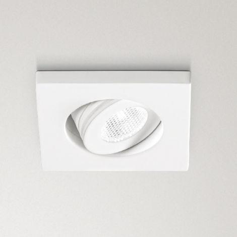 Spot encastrable en aluminium gea led gfa890c gfa890n spot led carré faux plafond réglable 3w 170lm 180lm 3000 ° k 4000 ° k ip20