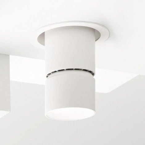 Spot encastrable en aluminium gea led gfa934 spot led encastrable au plafond faux plafond réglable 30w 2250lm ip20