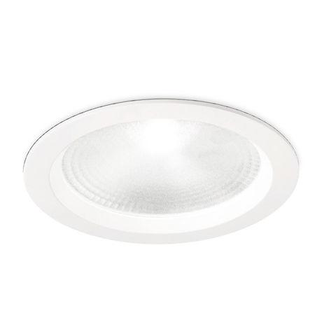 Spot encastrable en verre aluminium gea led gfa861 led spot rond blanc intérieur 30w 110 ° 3000 ° k 4000 ° k ip20