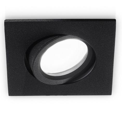 Spot encastrable gea led gfa050 gfa051 gfa052 spot led orientable aluminium brossé noir blanc plaque de plâtre gu10