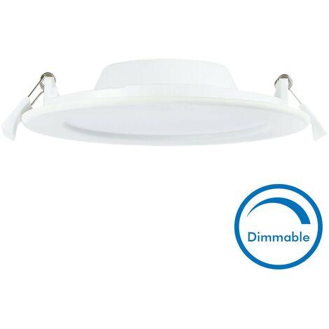 Spot encastrable LED 12W Dimmable SLIM WAVE Extra plat | Température de Couleur: Dimmable Blanc chaud 3000K