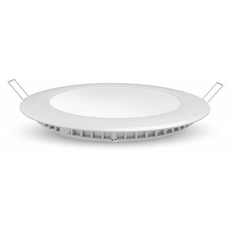 Spot encastrable LED 12W Plafonnier extra plat rond