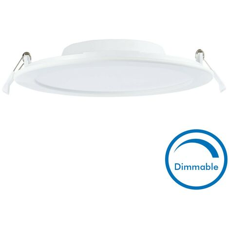 Spot encastrable LED 18W Dimmable SLIM WAVE Extra plat | Température de Couleur: Dimmable Blanc neutre 4000K
