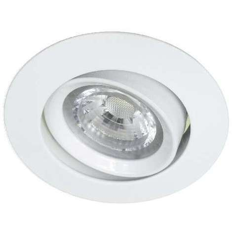 Spot encastrable LED 6W 3000K BLANC Dimmable Basse tension FOLK classe 3 ASLED FOL6WBCCL3