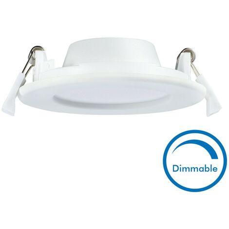 spot encastrable led 6w dimmable slim wave extra plat. Black Bedroom Furniture Sets. Home Design Ideas
