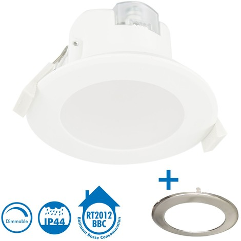 Spot encastrable LED 7W WAVE Dimmable BBC IP44