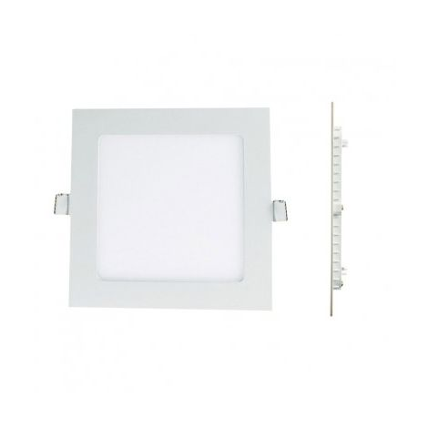 Spot Encastrable LED Carre Downlight Panel Extra-Plat 6W eqv. 48W