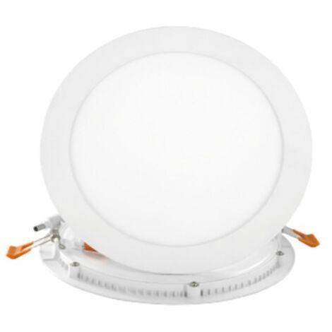 Spot Encastrable LED Downlight Panel Extra-Plat 24W Blanc Froid 6000K