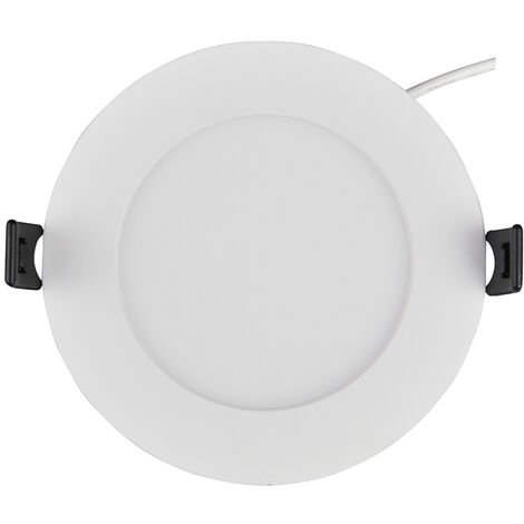 Spot Encastrable LED Downlight Panel Extra-Plat 7W Blanc Froid 6000K