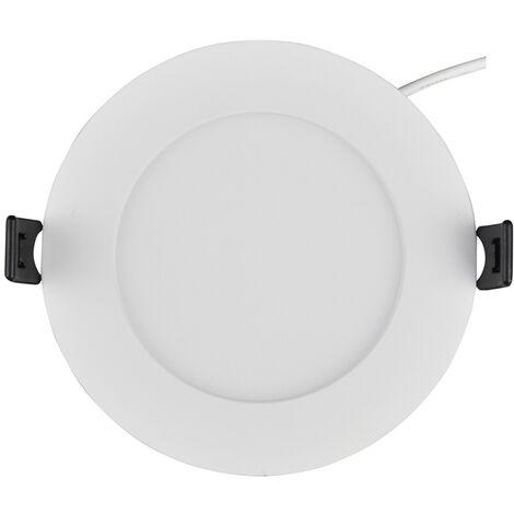 Spot Encastrable LED Downlight Panel Extra-Plat 7W Blanc Neutre 4200-4500K