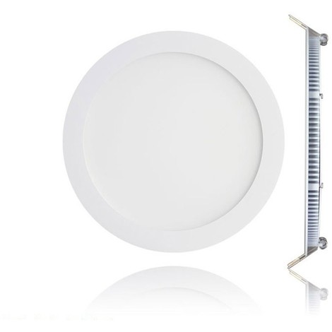 Panel Blanc Downlight Led Plat Froid Encastrable 6000k Spot Extra 9w UGSMVpqz