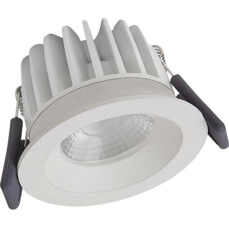 Spot encastrable LED pour salle de bain 8 W blanc chaud EEC: LED (A ...