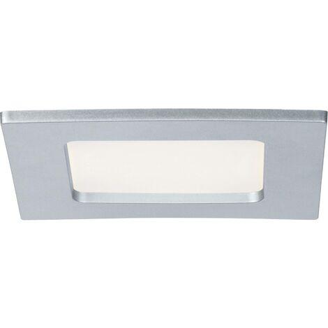 Spot encastrable LED pour salle de bain LED intégrée Paulmann 92067 blanc chaud 6 W blanc