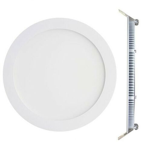 Spot Encastrable LED Rond Extra-Plat 12W - Blanc Froid 6000K