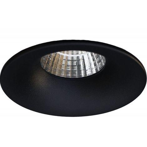 Spot encastrable noir Salsa 7W CTC ASLED SAL7BCTC