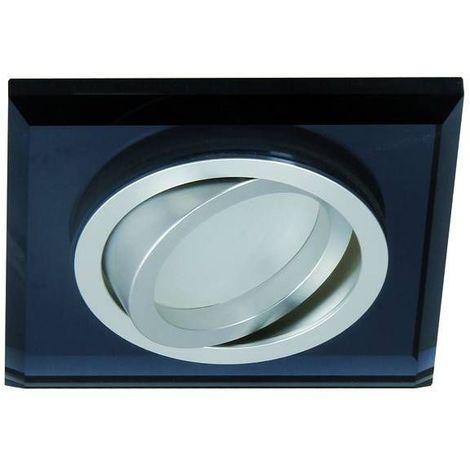 Spot encastrable orientable carré Design Noir Collection MORTA Kanlux - 26719