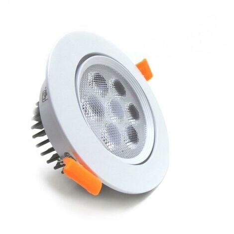 Spot Encastrable Orientable LED Rond 7W 80