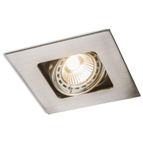 Spot Encastrable / Plafonnier carré pivotant et pivotant - Artemis Qazqa Design, Moderne Luminaire interieur Carré