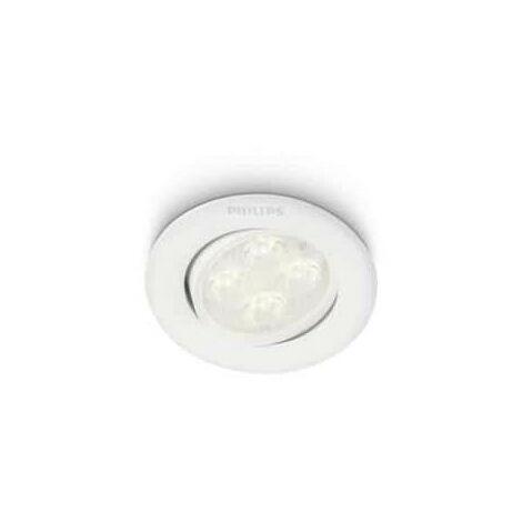 Admirable Spot encastré à LED Philips Albireo 2700K White 1x4W - PHI450943116 AY-03