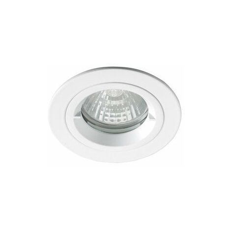 Spot encastré Be best - 230V - Ø81mm - IP65 - BBC - Blanc mat