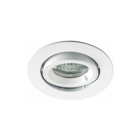 Spot encastré Be best - Orientable - 230V - Ø92mm - IP65 - BBC - Blanc mat