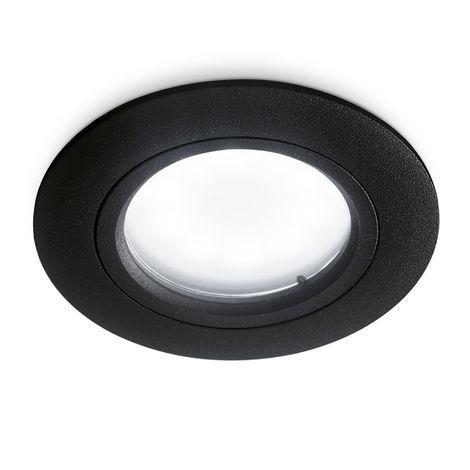 Spot encastré gea led gfa310 gfa311 gfa312 gfa313 led ip44 spot blanc gris noir aluminium placoplâtre salle de bain gu10