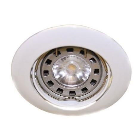 Audacieux Spot encastré LED 4.5W blanc Ø 84mm orientable lampe GU10 3000K OV-46