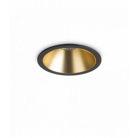 Spot encastré Noir/Doré GAME 1 ampoule