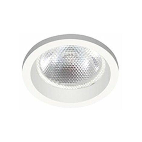Spot encastré rond fixe - Spoti LED - 4,5W - 3000 K - Blanc mat