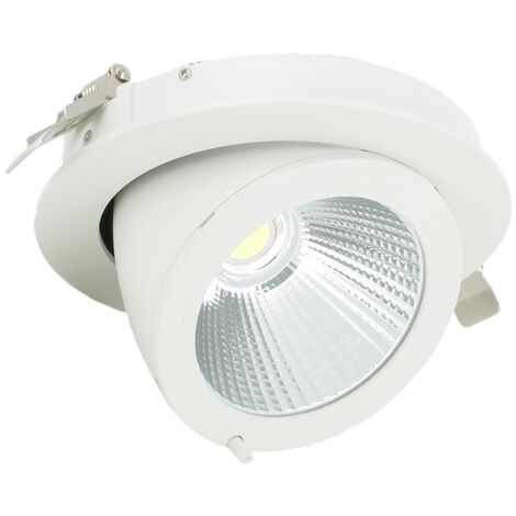 Spot Escargot Pro orientable COB 10W transfo Philips
