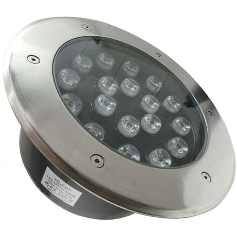 Spot Extérieur Encastrable LED IP65 220V Sol 18W 60