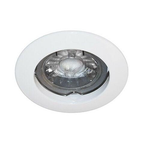 Spot fixe blanc GU10 max 50W (KSA100204)