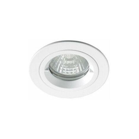 Spot intérieur décoratif BE Best - GU10 - 50W Max. - Rond - Blanc - Sans ampoule