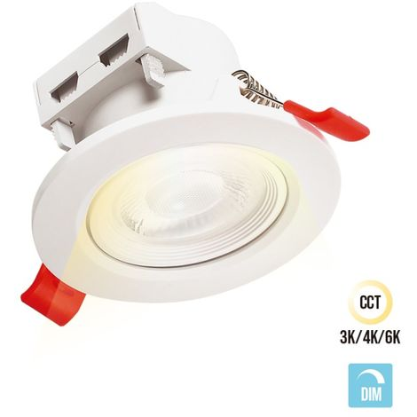 SPOT IP44 CCT DIMMABLE 5W 500LM