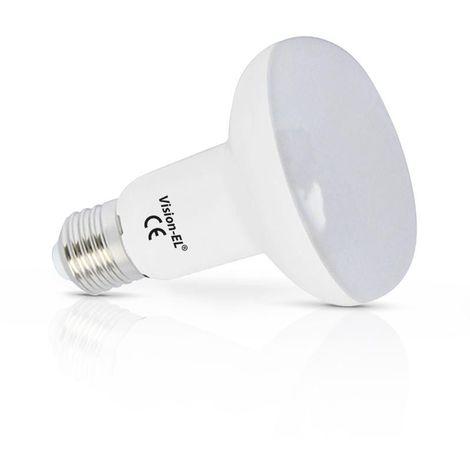 Spot Led 10W (90W) E27 R80 Blanc chaud 2700°K Dépolie 880 lumens