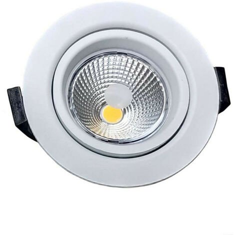 Spot LED 10W BBC RT2012 Orientable Dimmable 220V Extraplat - Blanc Chaud 3000K