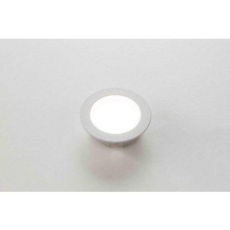 Spot led 12v extra-plats lucky rond - : - Type d'éclairage : LED - Température de couleur : 4000 K - Puissance : 1,9 W - : - Fixation : En applique - Couleur de la lumière : Blanc neutre - Indice