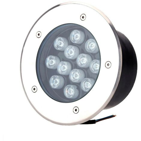 Spot LED 12W Encastrable Sol Extérieur Étanche Blanc Froid 6000K