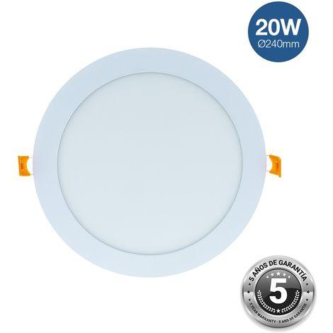 Spot LED 20W encastrable PRO - garanti 5 ans | Blanc Neutre